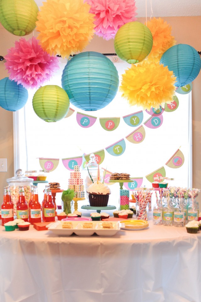 10 new themes for kids birthday party cookifi for 1 birthday decoration ideas