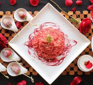 valentine day main dish