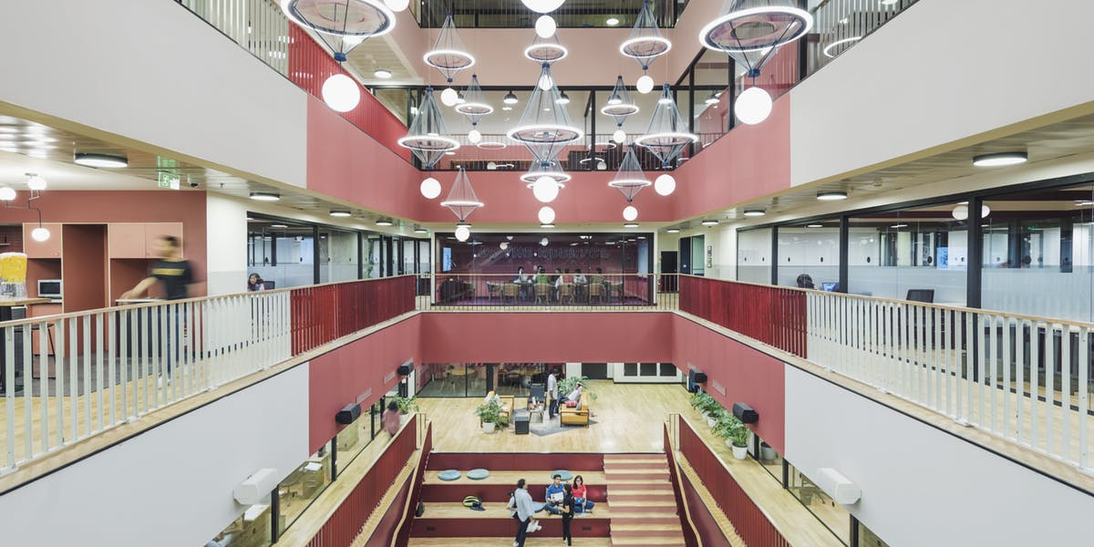 5 hot shot plug n play co working spaces in bangalore for Between spaces architecture bangalore
