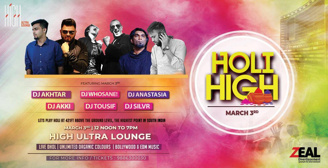 Holi parties in Bangalore