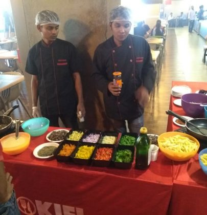 Spice up your Kids Birthday Party with a Pasta counter