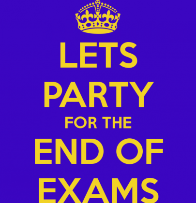 10 Ideas to Celebrate a grand End of Exams Party