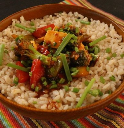 Colorful healthy recipes for a fitter you! Take a look