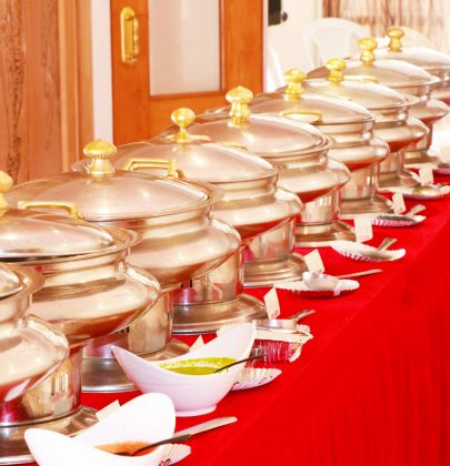 Suggested dishes for North Indian wedding.